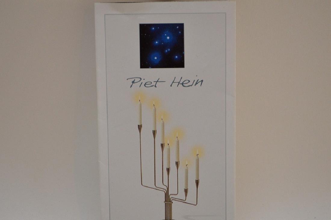 Piet Hein Lysestage Candlestick Leuchter.  Condition: - 8