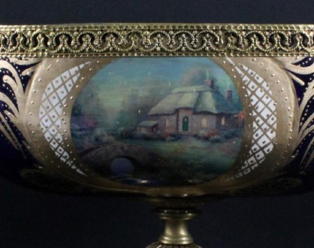 """SEVRES Style Center Compote. Size H: 14"""" W: 16"""" - 3"""