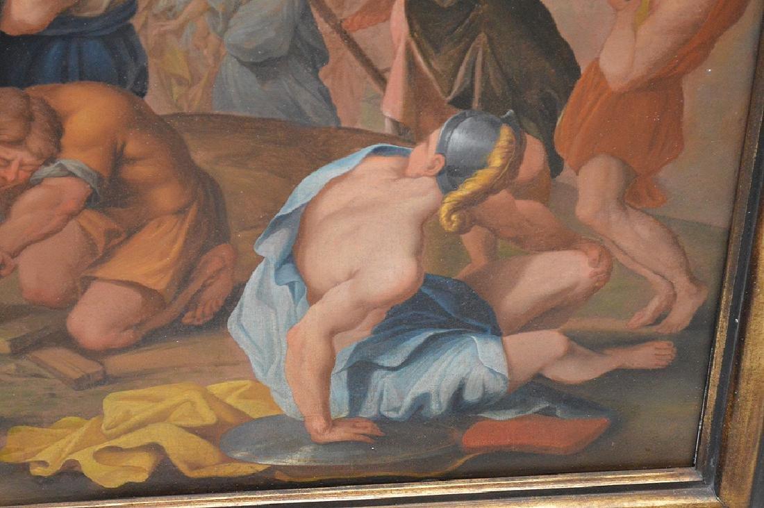 17th century School of Rubens, oil on canvas, RAISING - 5