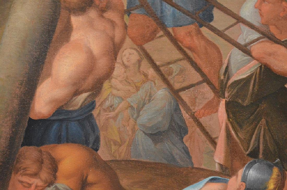 17th century School of Rubens, oil on canvas, RAISING - 6