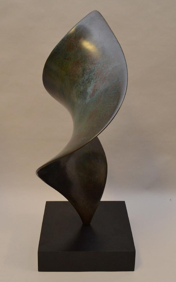 Free Form Bronze Sculpture by Lou and Robins (Lou