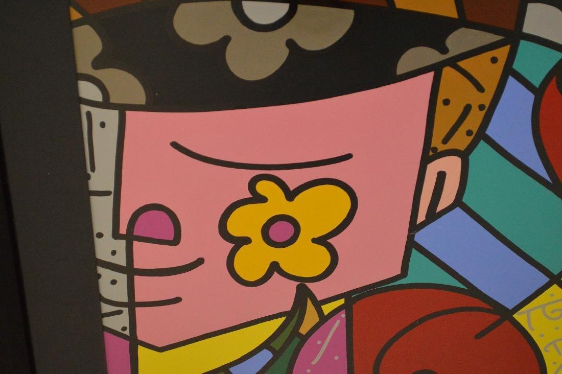 Romero Britto (Brazilian b. 1963) Acrylic on board, - 3