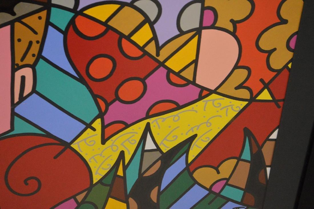Romero Britto (Brazilian b. 1963) Acrylic on board, - 4