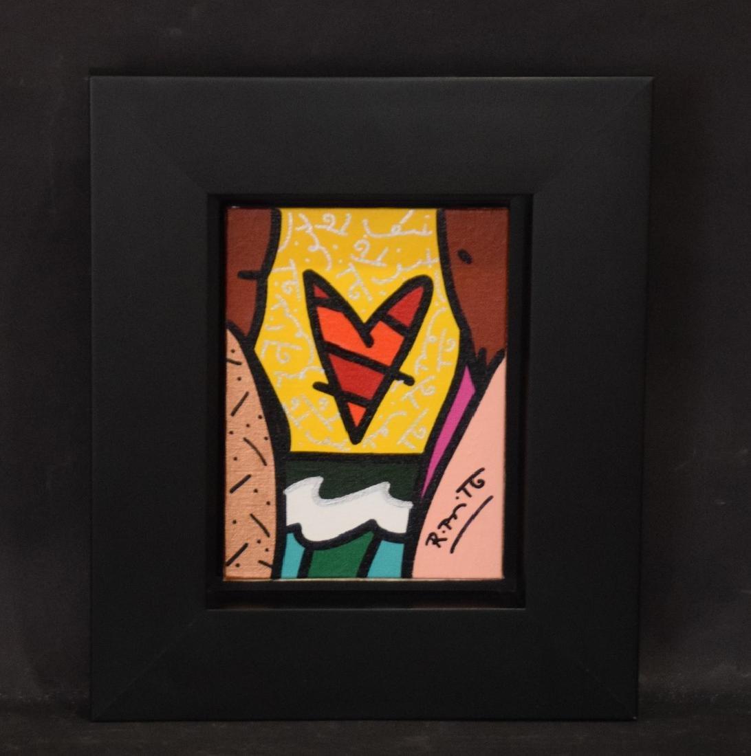 Romero Britto (Brazilian b. 1963) acrylic on canvas - 2