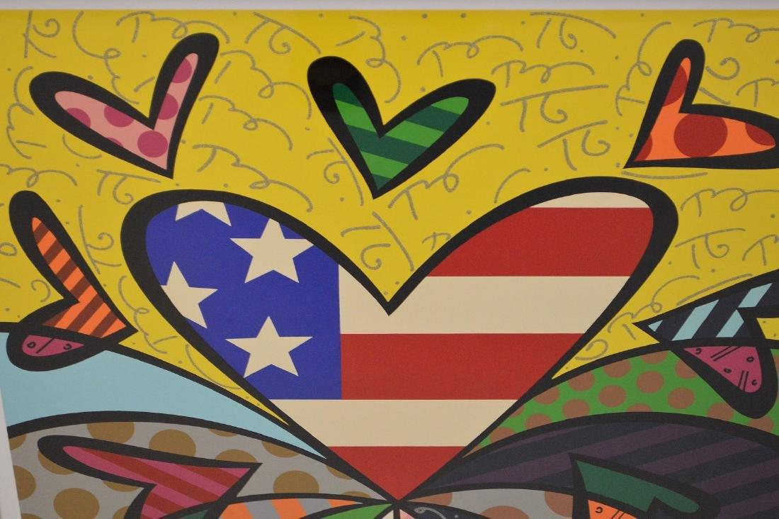 Romero Britto (Brazilian b. 1963) AMERICAN REVIVAL AP, - 3