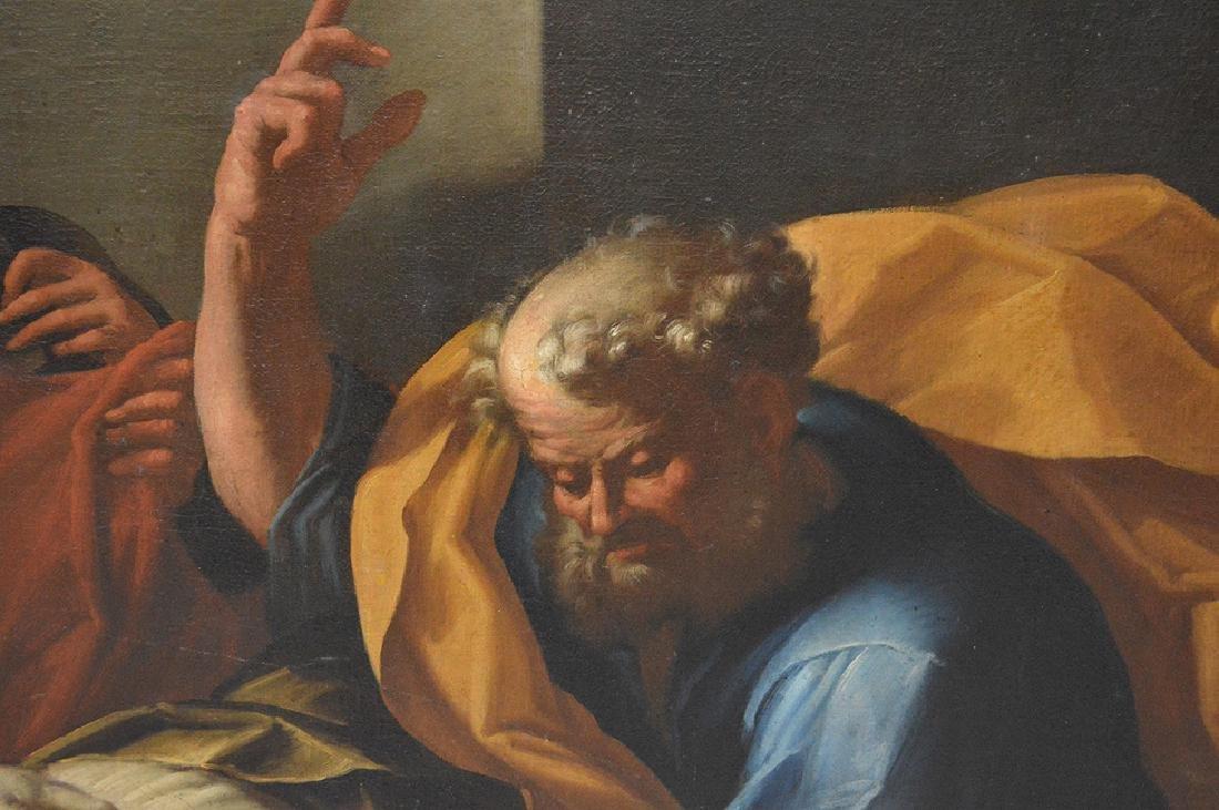 17th Century Italian School Large Old Master Religious - 3