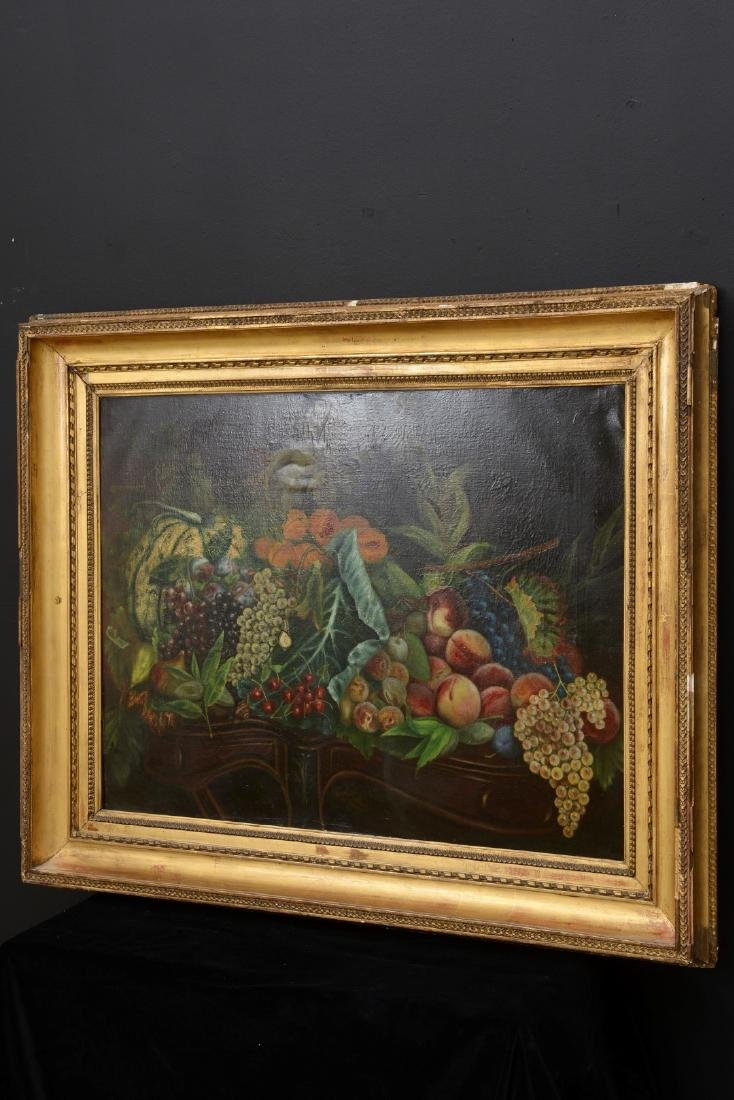 French 18th/19th Century Still Life Fruit Oil Painting. - 2