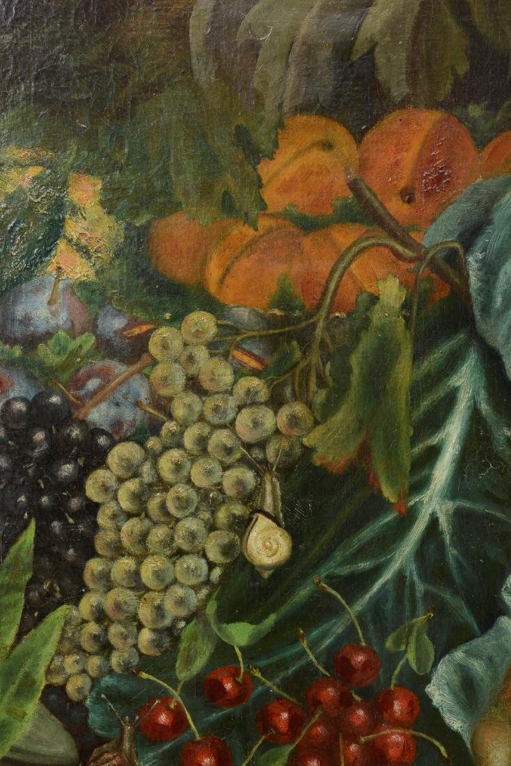 French 18th/19th Century Still Life Fruit Oil Painting. - 3