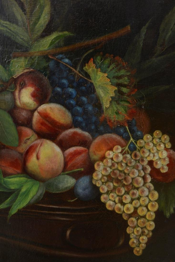French 18th/19th Century Still Life Fruit Oil Painting. - 4