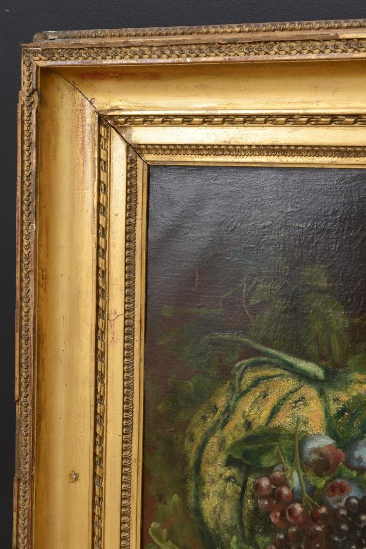 French 18th/19th Century Still Life Fruit Oil Painting. - 5