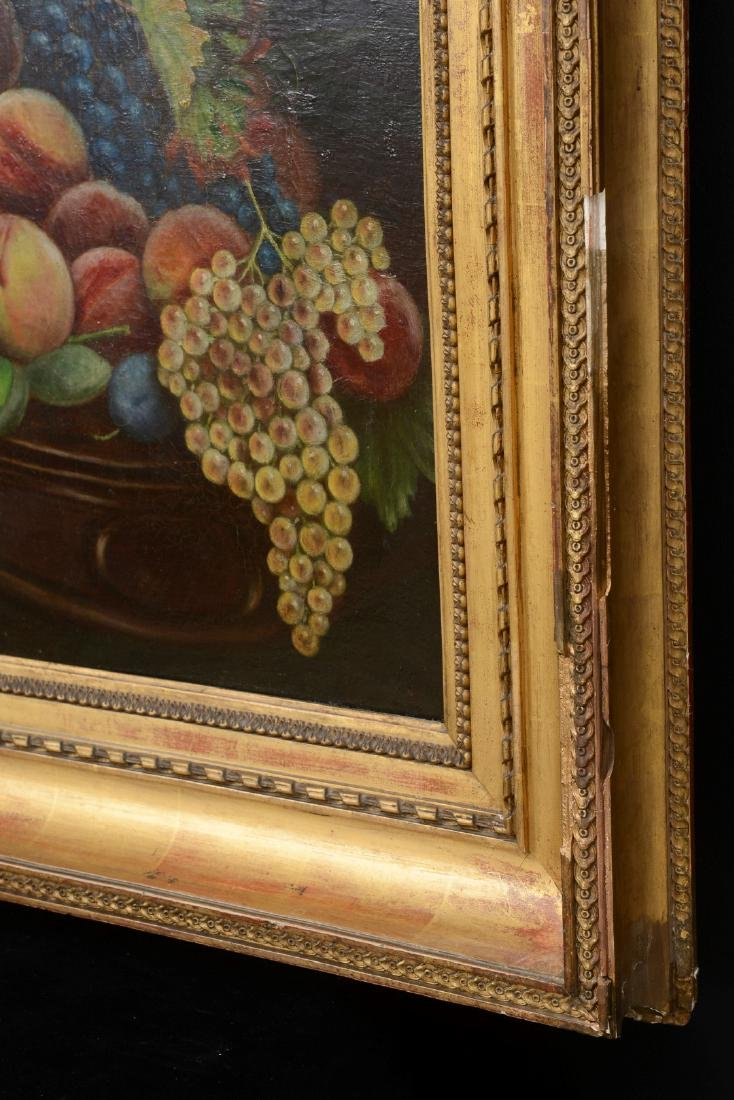 French 18th/19th Century Still Life Fruit Oil Painting. - 6