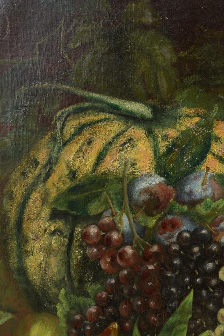 French 18th/19th Century Still Life Fruit Oil Painting. - 7