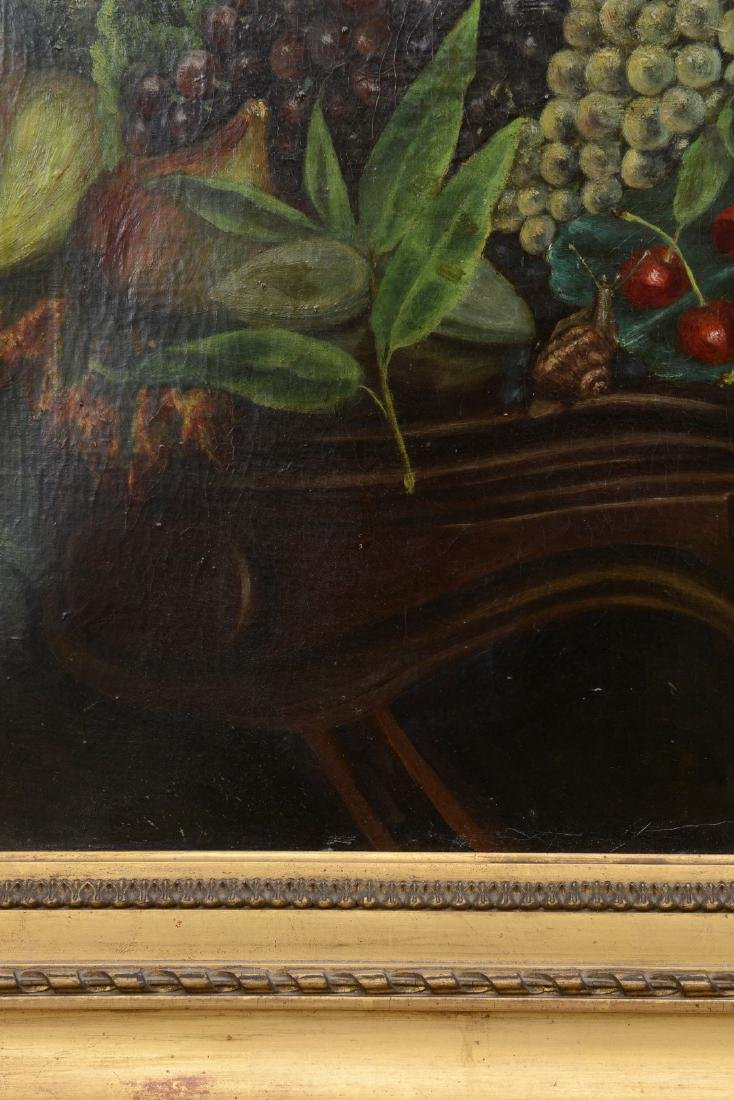 French 18th/19th Century Still Life Fruit Oil Painting. - 8