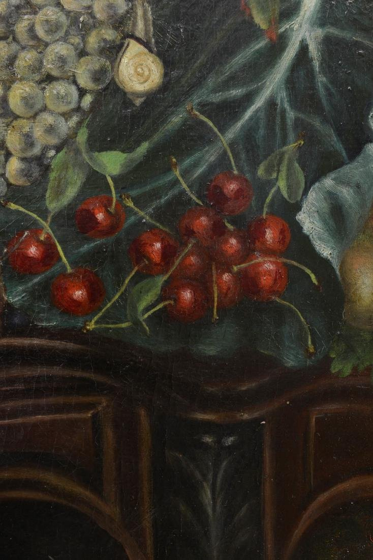 French 18th/19th Century Still Life Fruit Oil Painting. - 9