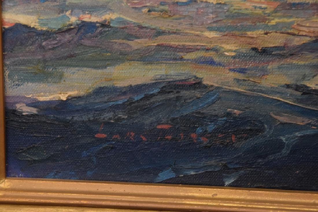 LARS THORSEN (CT, 1877-1952) Ship Painting DAUNTLESS, - 3