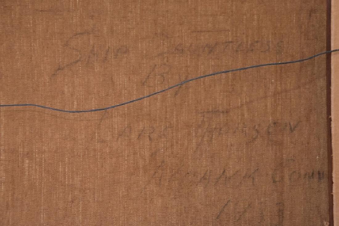 LARS THORSEN (CT, 1877-1952) Ship Painting DAUNTLESS, - 5