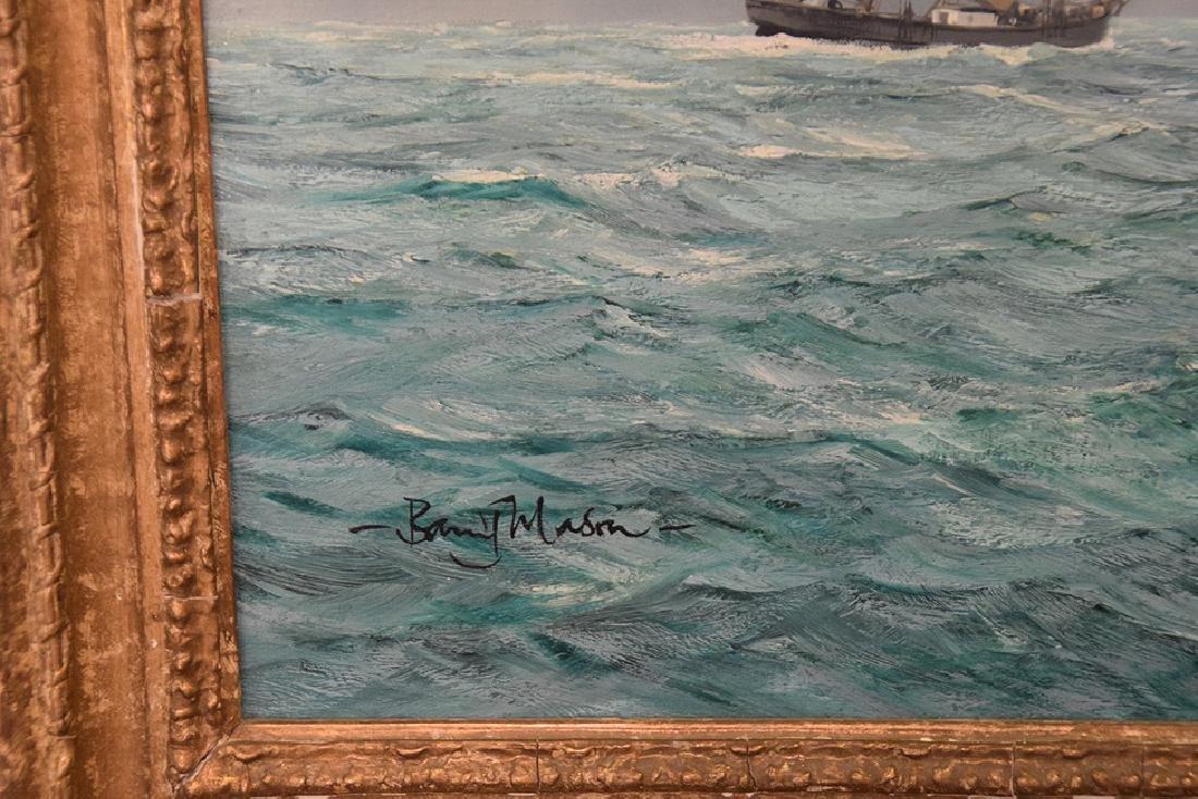 BARRY MASON (British, b. 1947)  oil on canvas, Clipper - 3