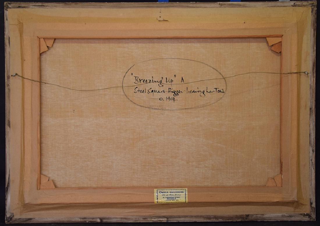 BARRY MASON (British, b. 1947)  oil on canvas, Clipper - 5