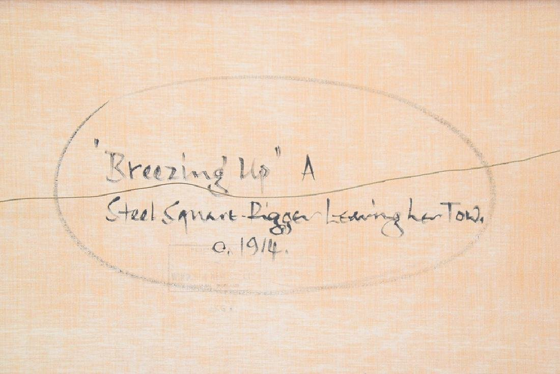 BARRY MASON (British, b. 1947)  oil on canvas, Clipper - 6
