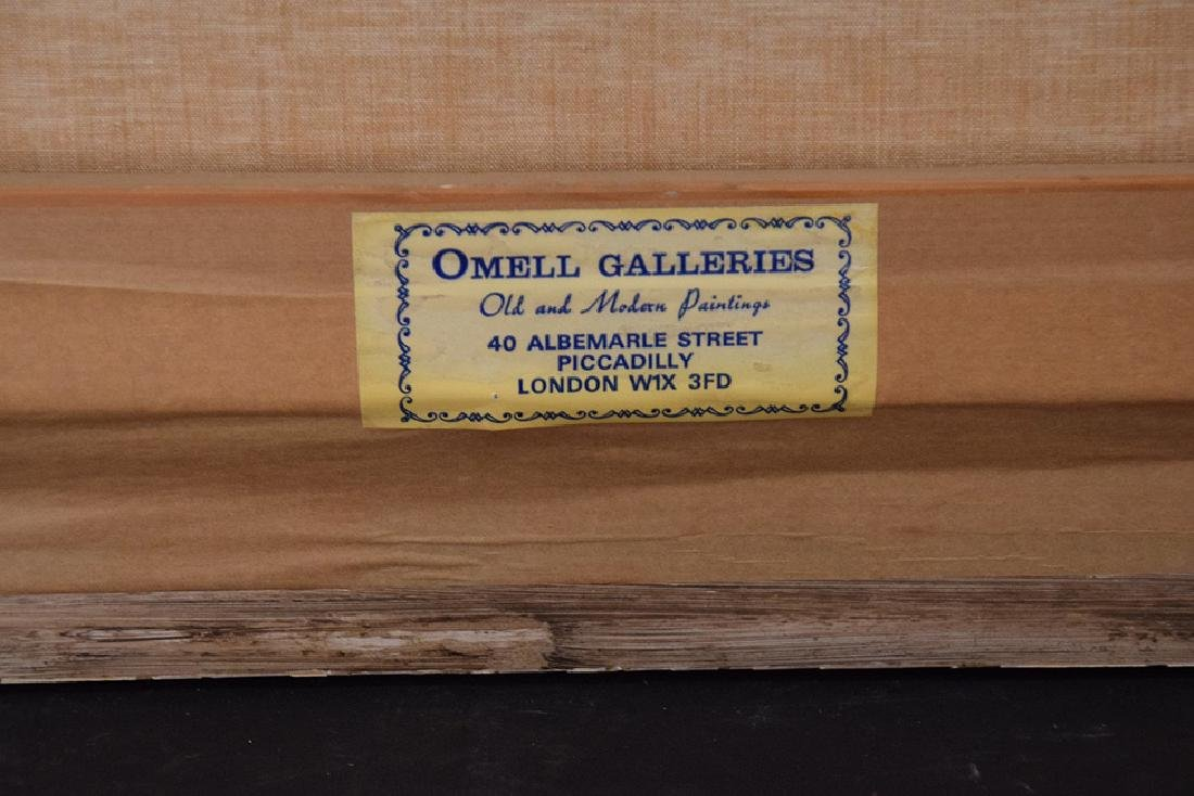 BARRY MASON (British, b. 1947)  oil on canvas, Clipper - 8