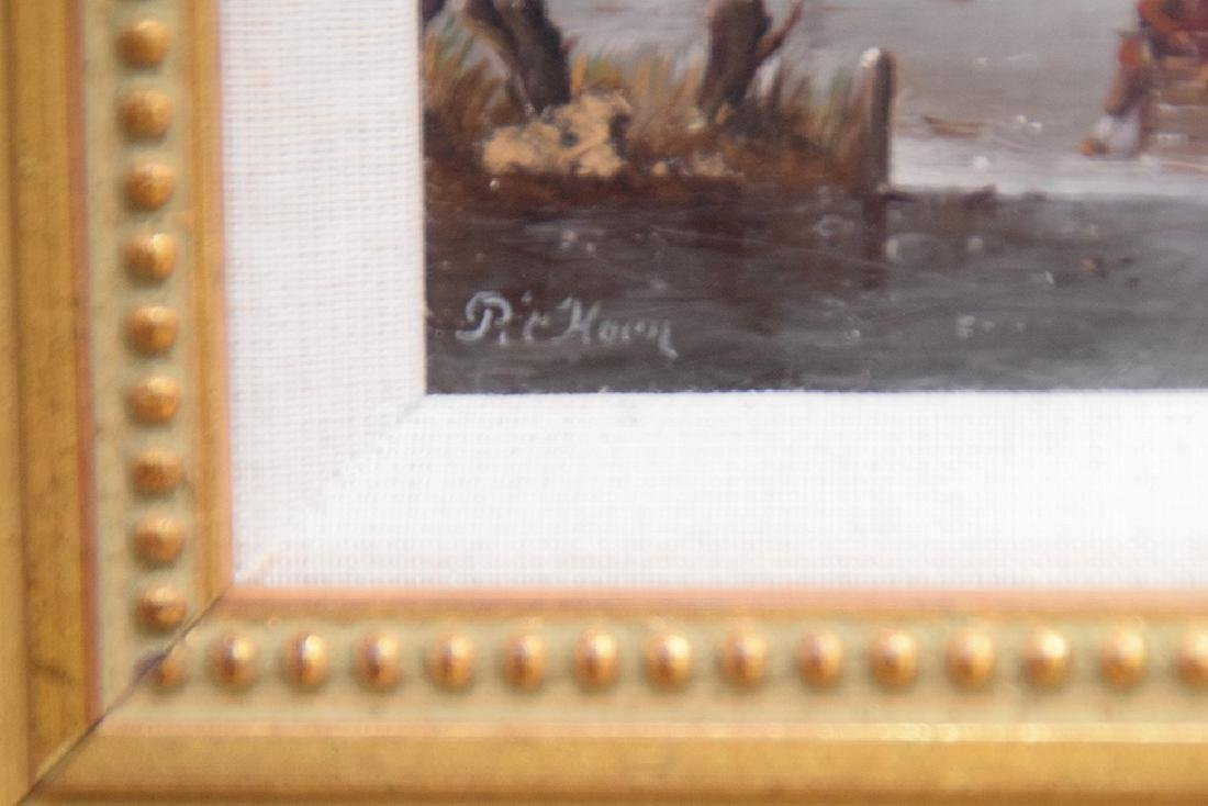 Cornelis Peter Hoen  (Netherlands 1814 - 1880) Ice - 3