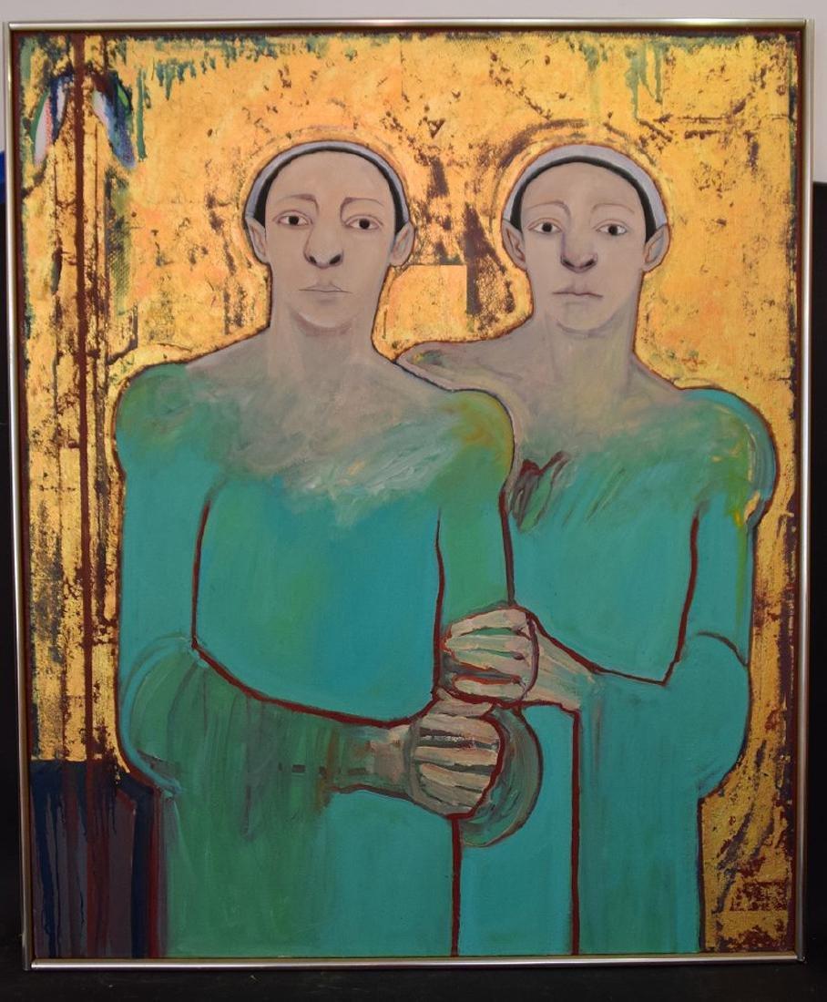 Selina Trieff (American, b. 1934-2015) oil on canvas,