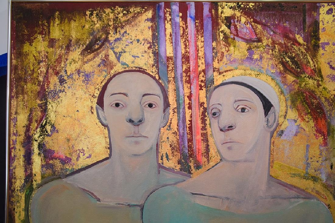 Selina Trieff (American, b. 1934-2015) oil on canvas, - 2
