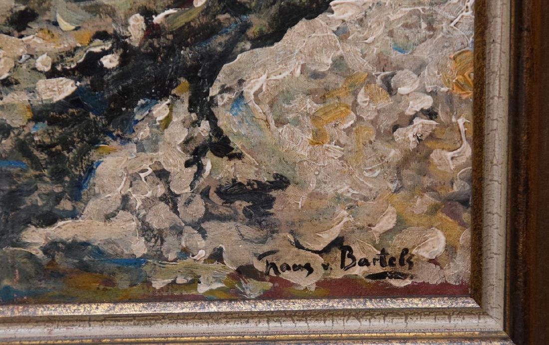 Hans von Bartels (GERMAN, 1856–1913) oil on mahany - 3