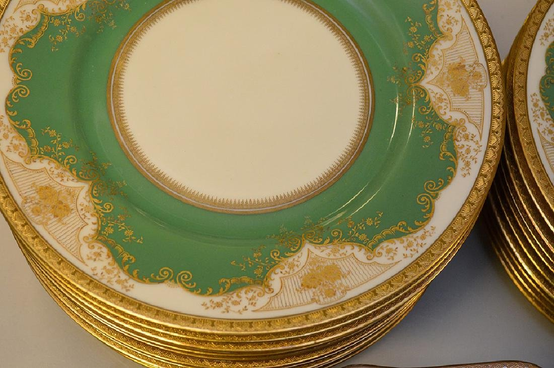 Set of Black Knight china service, incl; 11 dinner - 5