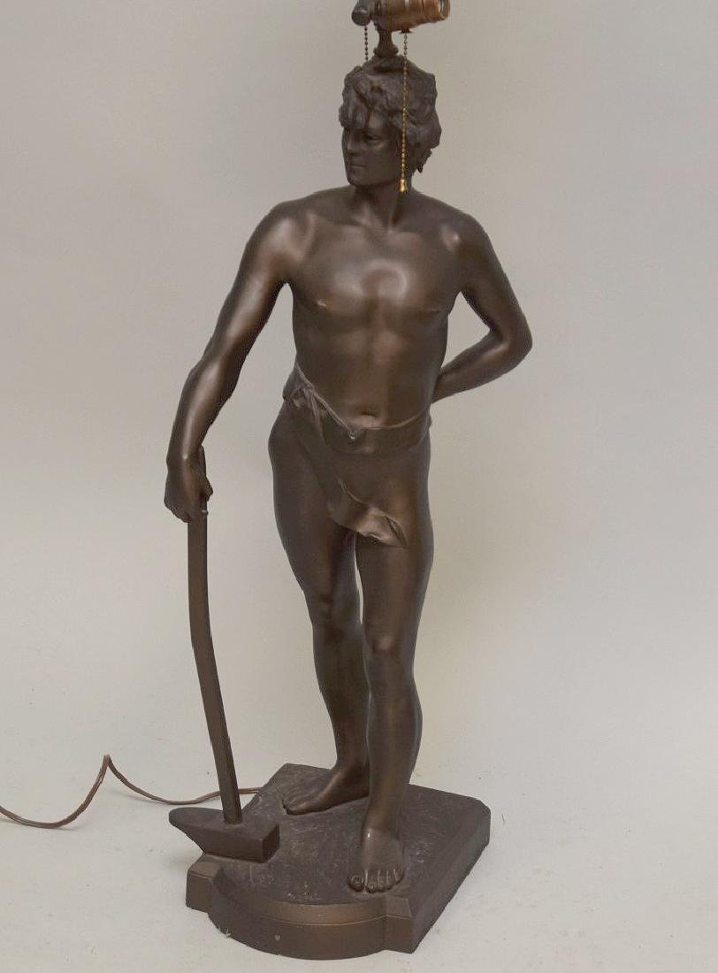 Bronze nude After Anton Nelson (French, b. 1854) - 3