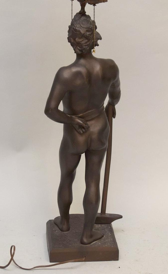 Bronze nude After Anton Nelson (French, b. 1854) - 7