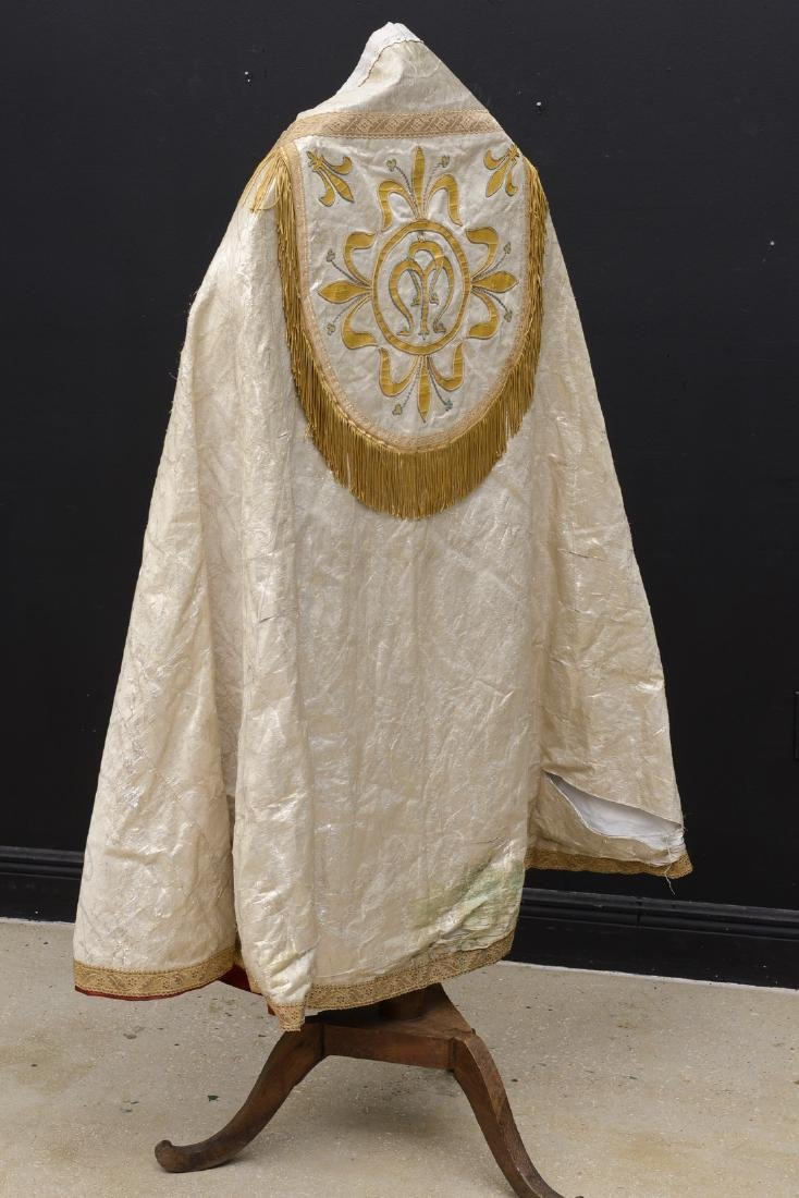The cope is a vestment for processions, in the greater - 10