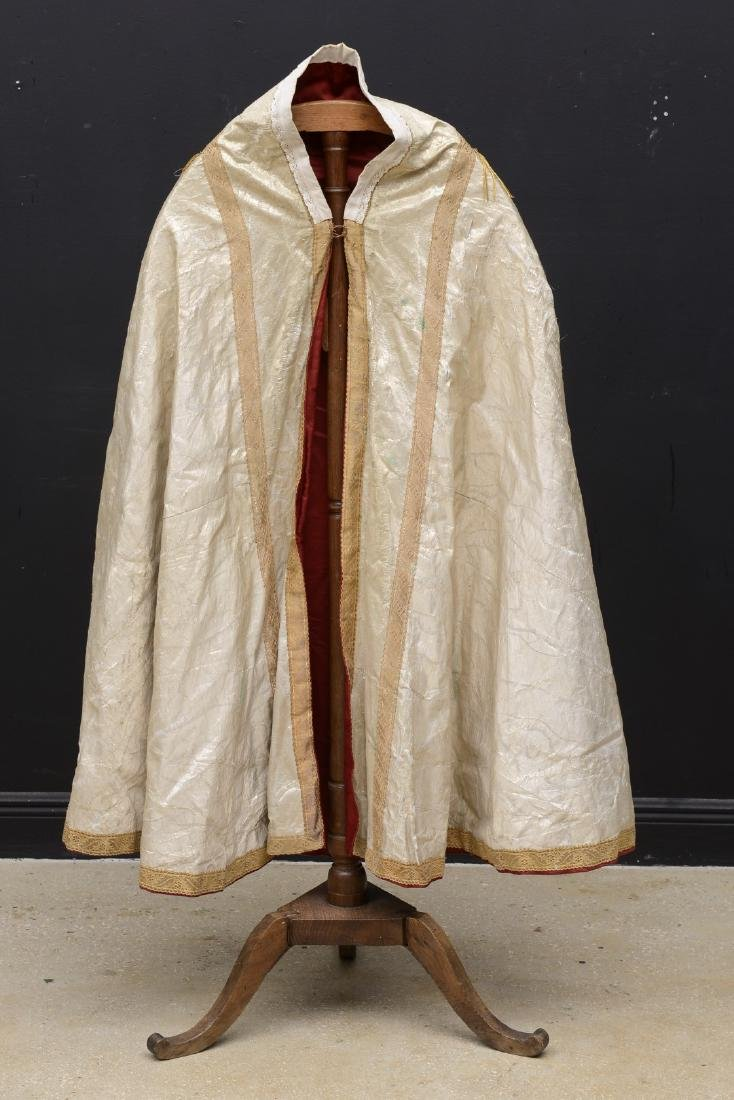 The cope is a vestment for processions, in the greater
