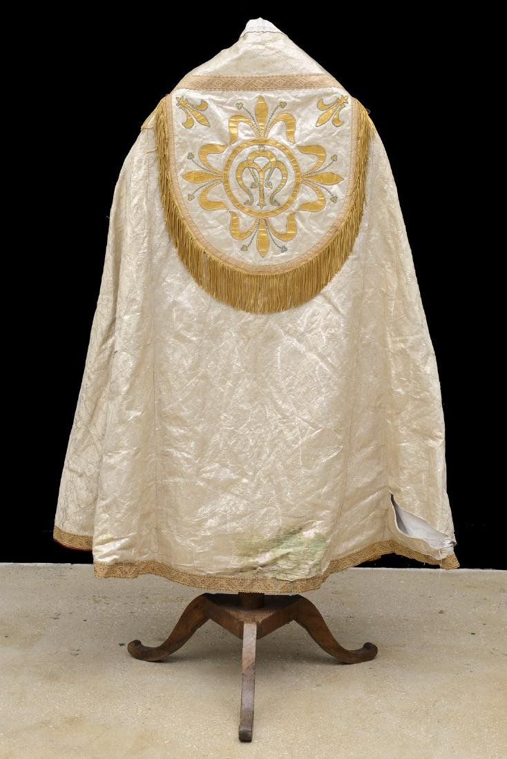The cope is a vestment for processions, in the greater - 2