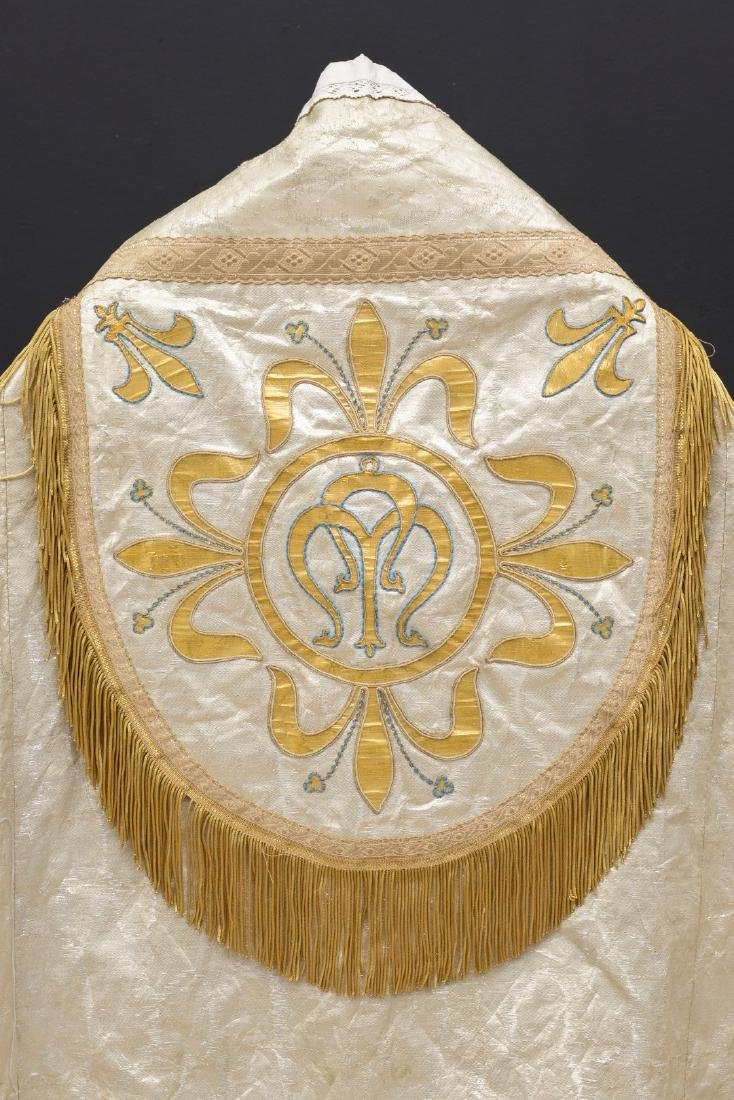 The cope is a vestment for processions, in the greater - 8
