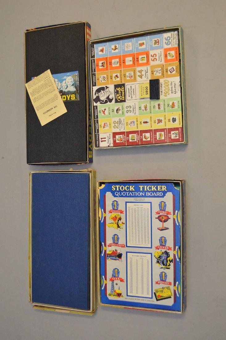 4 Circa 1960's board games, incl; The Kennedy's, Rich - 3