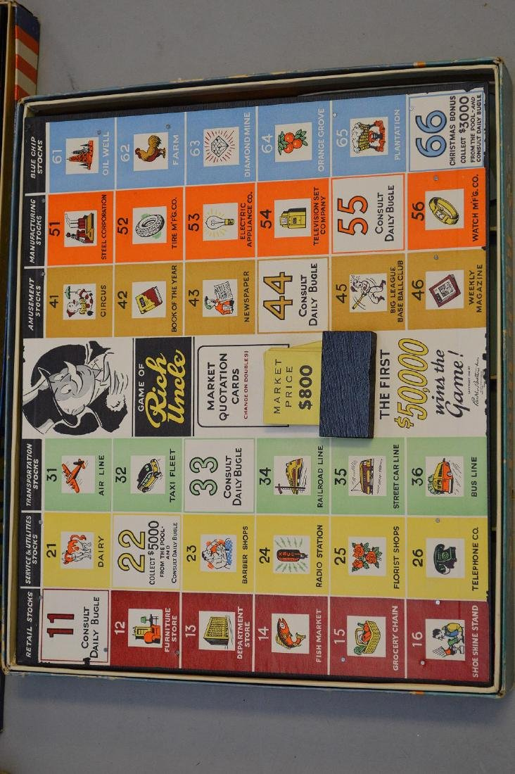 4 Circa 1960's board games, incl; The Kennedy's, Rich - 4