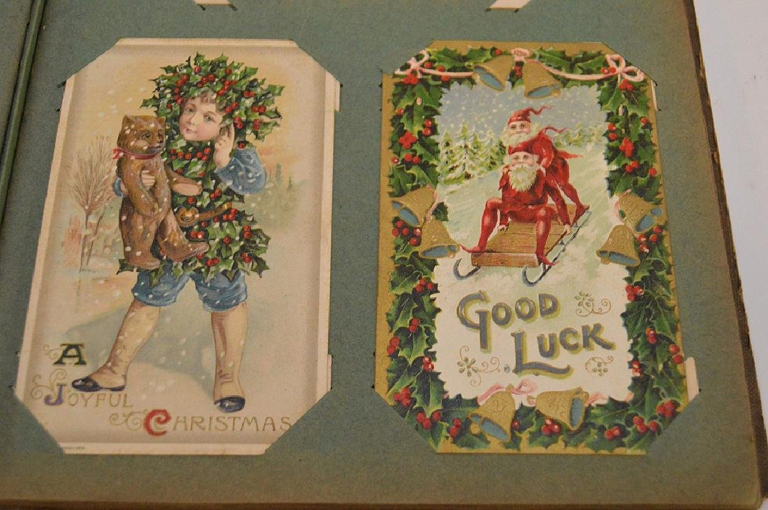 Early 1900's postcards, all holidays, approx. 35 - 6