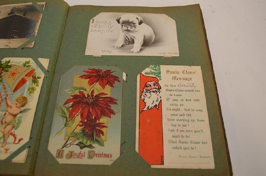 Early 1900's postcards, all holidays, approx. 35 - 7