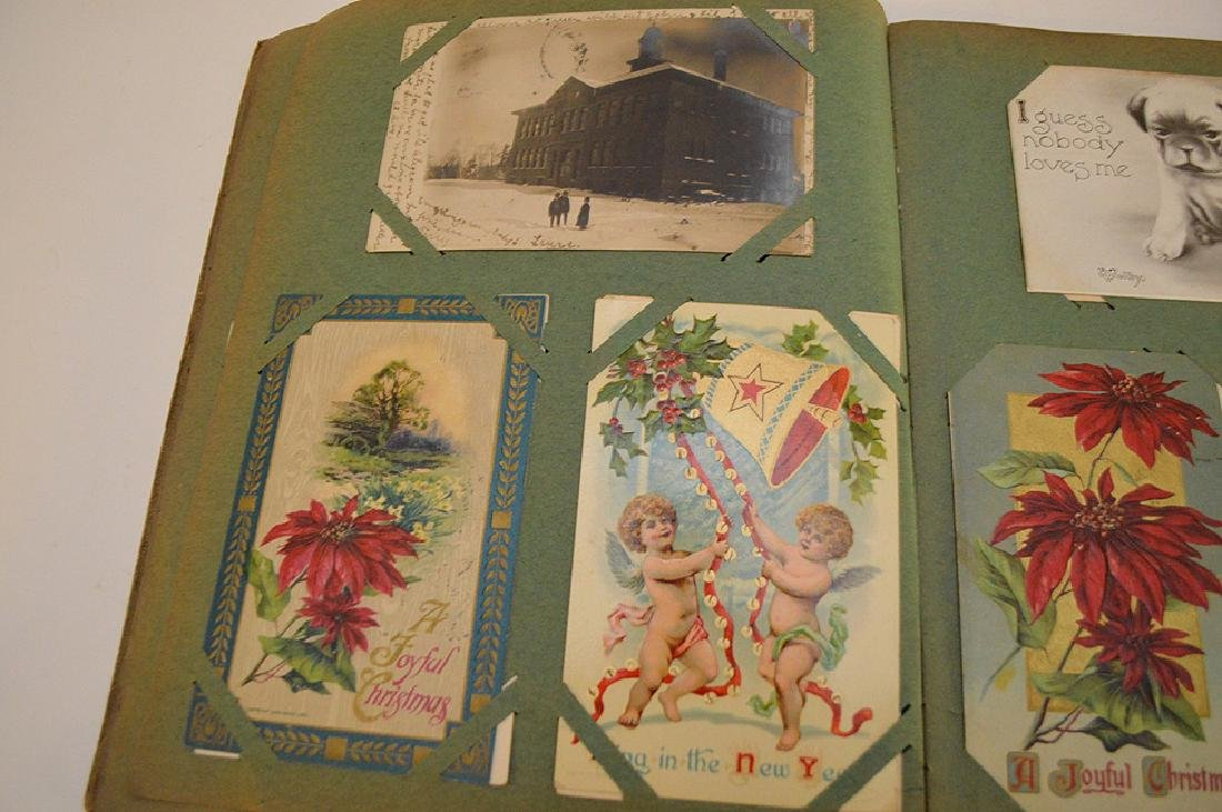 Early 1900's postcards, all holidays, approx. 35 - 8