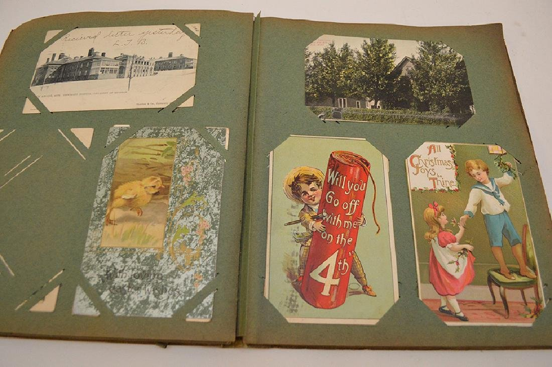Early 1900's postcards, all holidays, approx. 35 - 9