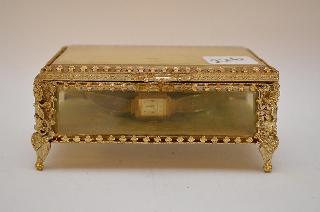 Wittnauer 14kt yellow gold women's watch, (casing only) - 4
