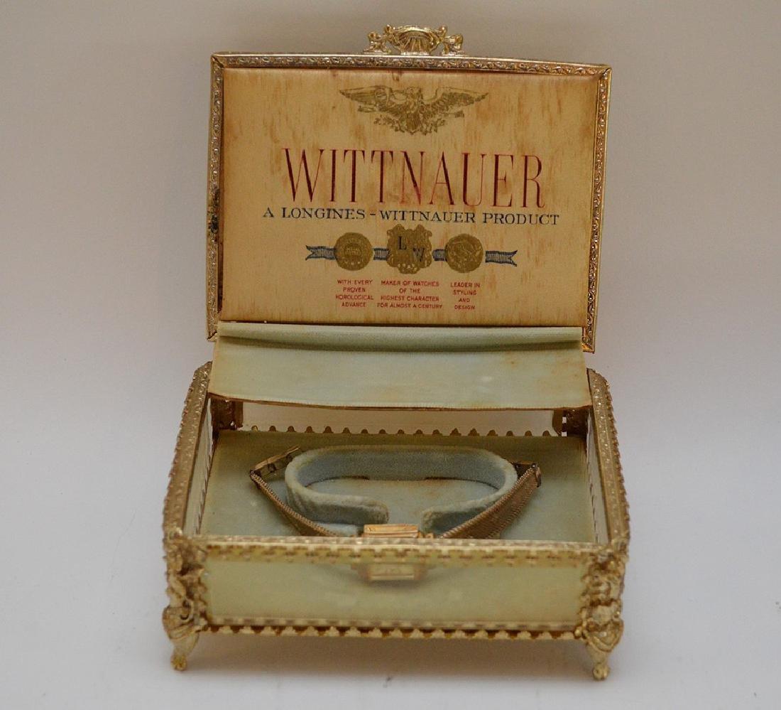 Wittnauer 14kt yellow gold women's watch, (casing only) - 6
