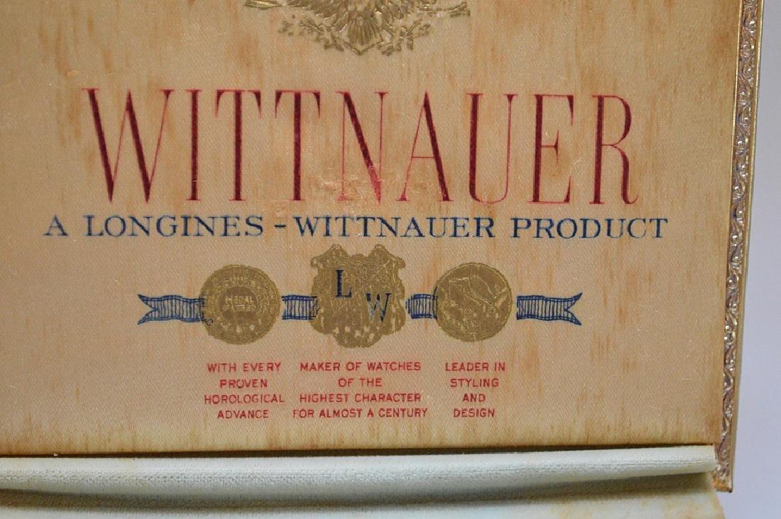 Wittnauer 14kt yellow gold women's watch, (casing only) - 7