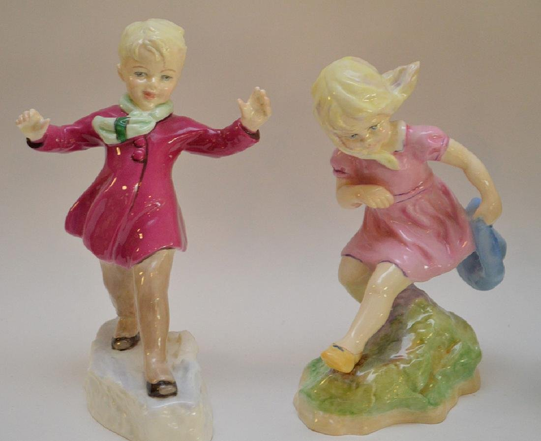 12 Royal Worcester fine bone china figurines modeled by - 5