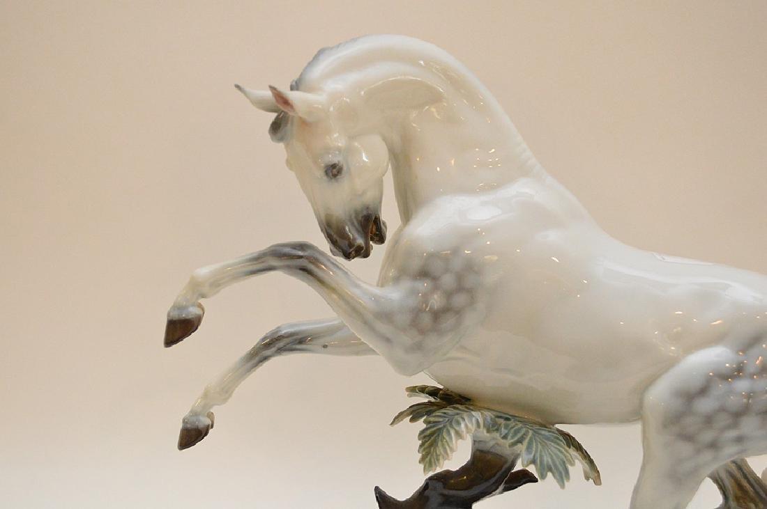 "Rosenthal Germany Handgemalt Horse Figurine 12"" x 15.5"" - 2"