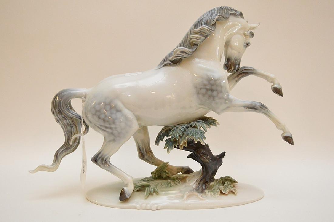 "Rosenthal Germany Handgemalt Horse Figurine 12"" x 15.5"" - 5"