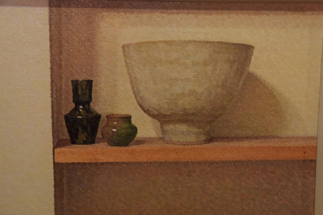 William Wilkins (American born 1938) Painting oil on - 3