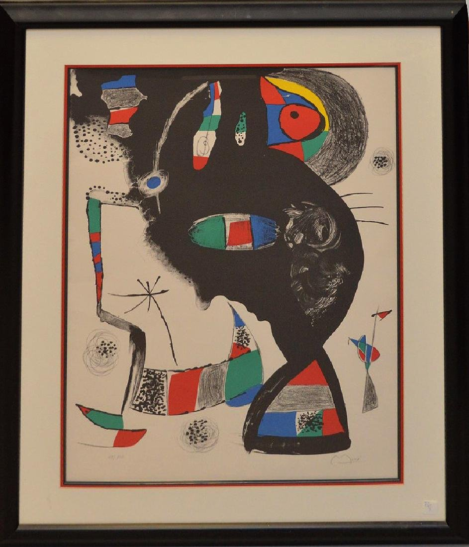 Joan Miró (1893-1983) – Spanish artist, widely