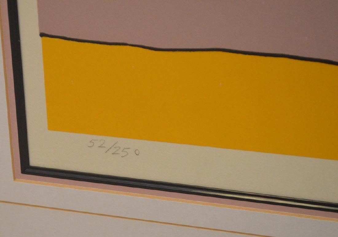 Peter Max (American, born 1937) colored lithograph, - 5